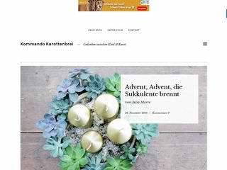 www.kommandokarottenbrei.de