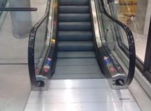 Rolltreppe im Kaufhaus